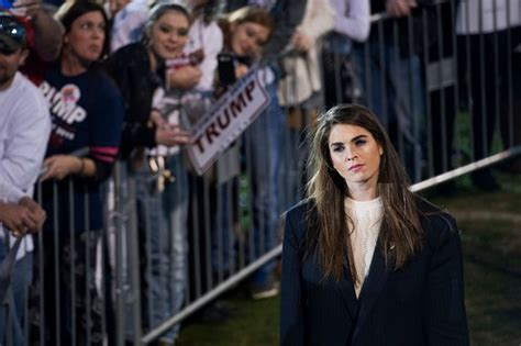 hope hicks congress 10 powerful but silent people in donald trump s administration