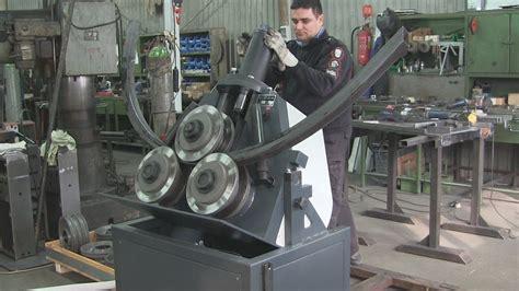 section roller drehbar profilbiegemaschinen turnable section roller