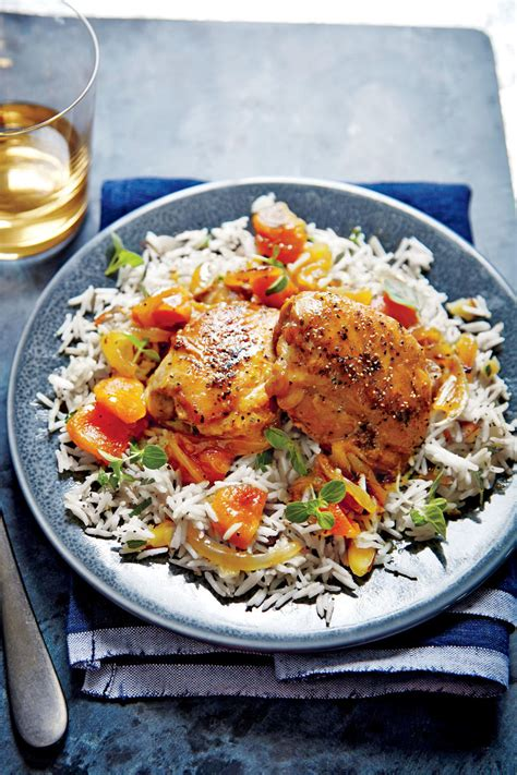 apricot glazed chicken thighs cooking light chicken thigh recipes southern living