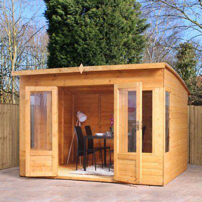 combi garden room shiplap timber summerhouse