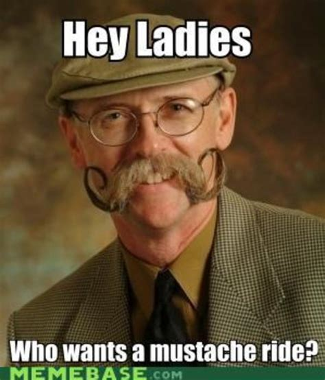 Handlebar Mustache Meme - image 178187 moustache know your meme