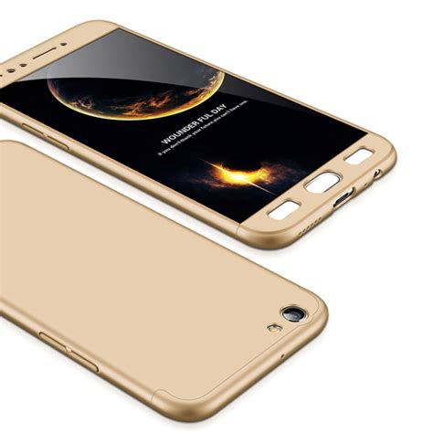 360 Protective For Oppo F3 5 5 Inch R9s Casing gkk oppo f3 pc three paragraph shield 360 degrees