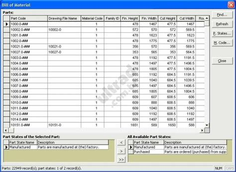 Bill Of Materials Template Download Bill Of Materials Template Free