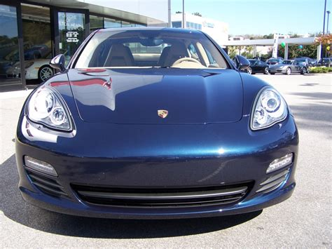 blue porsche panamera 2010 porsche panamera s in dark blue metalic with luxor