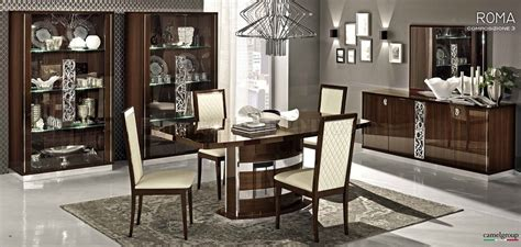 Conforama Meuble 1439 by Roma Dining Table In High Gloss Walnut By Esf W Options