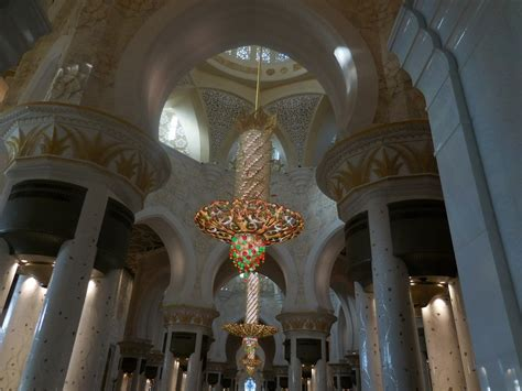 Sheikh Zayed Grand Mosque Pure Splendour Svetoslav Sheikh Zayed Mosque Chandelier