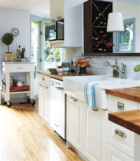Butcher Block Countertops White Cabinets by White Cabinets Butcher Block Counter Home Improvement