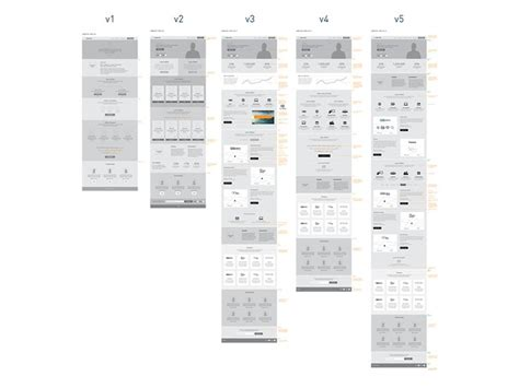 responsive wireframes wireframes pinterest screen 145 best ux responsive web design images on pinterest