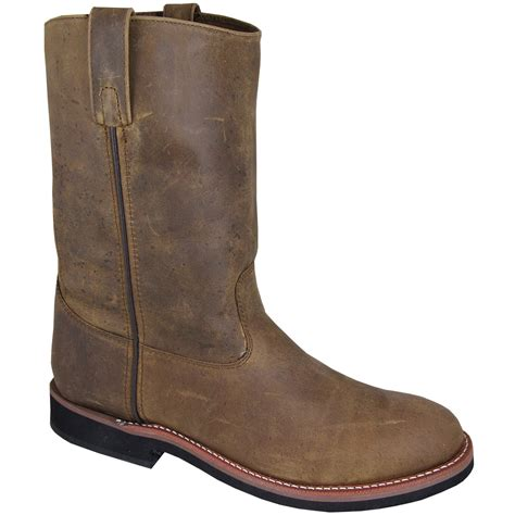 mens wide cowboy boots smoky mountain boots s 4024 wellington 10 quot leather