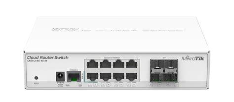 Router Mikrotik 16 Port mikrotik crs112 8g 4s in cloud router switch complete 4 sfp ports plus 8 port 10 100 1000 layer
