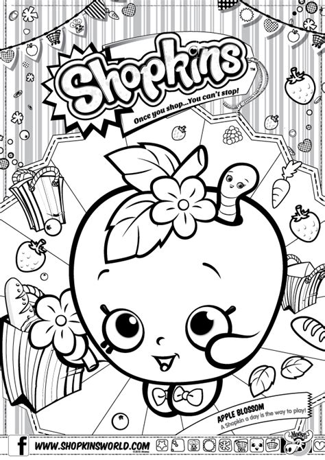 shopkins coloring pages birthday shopkins birthday party ideas girl inspired