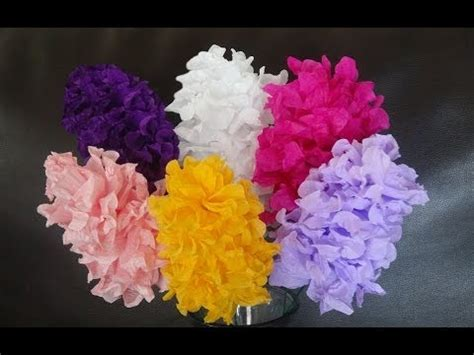 How To Make Easy Flowers Out Of Paper - how to make easy paper flowers diy s day craft