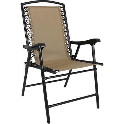 sports bar lounge chairs sunnydaze outdoor folding suspension lounge chair for