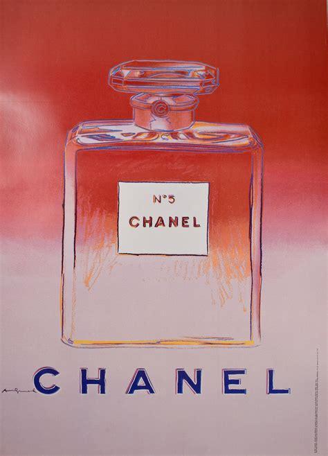 chanel  pink designed  andy warhol modernism