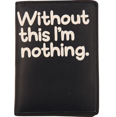 quot without this quot passport cover by waldo pancake never