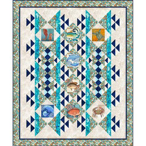 quilting treasures fabrics oasis quilt kit quilt kit