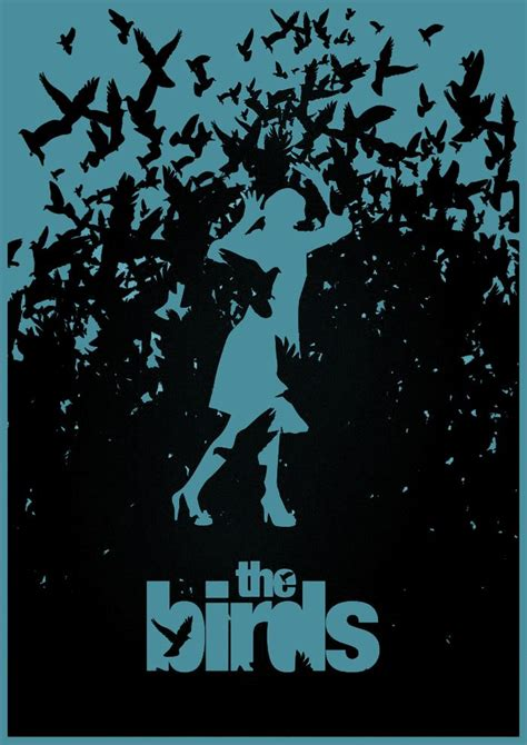 the birds the birds minimalist poster minimalist horror posters