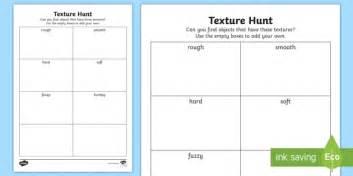 pattern and texture ks1 texture hunt worksheet activity sheet textures materials