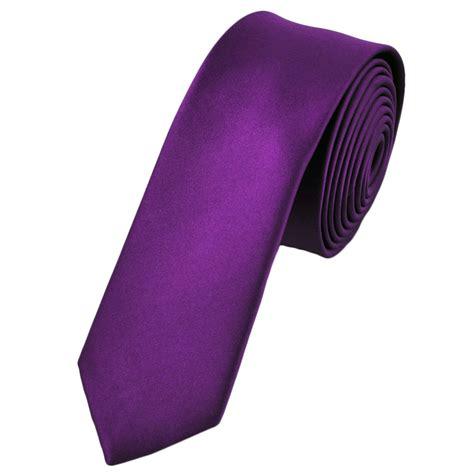 plain bright purple tie from ties planet uk