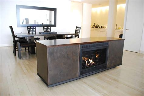Hearth Cabinet by Luxury Interior Design With Ventless Fireplaces In The