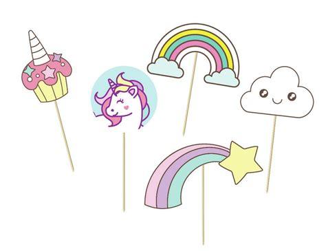 printable unicorn photo props props de toy story