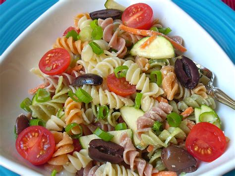 summer pasta salad healthier dishes