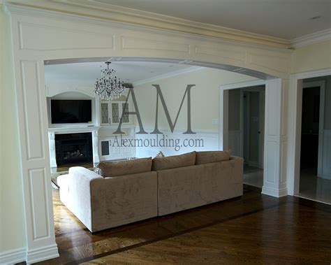 Wainscoting Patterns by Custom Millwork Arches Panels Casing Openings In Toronto