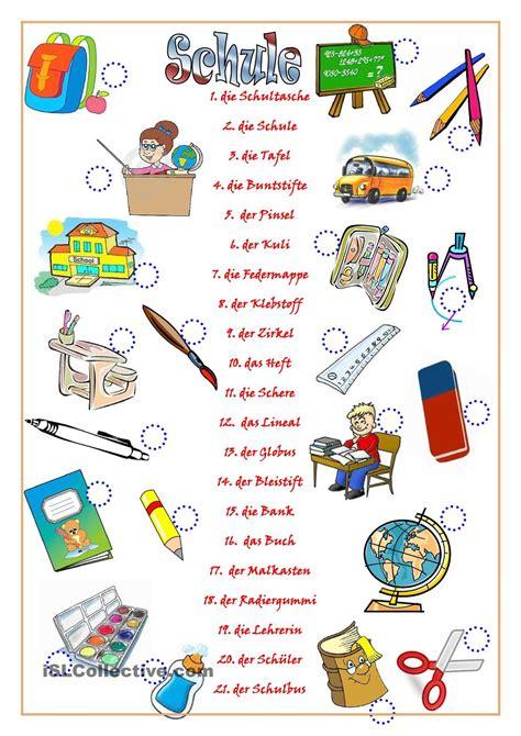garten der wörter schule german and learn german