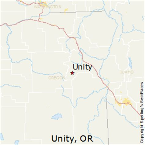 map of unity oregon best places to live in unity oregon