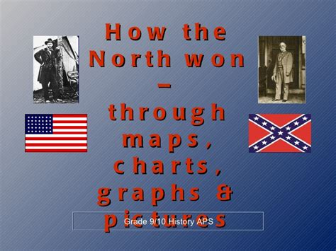 who won the war why the won the us civil war using infographics