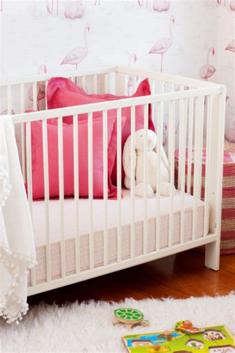 pink and white nursery cheerful and feminine pink and white baby girl nursery