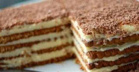 kako kuchen keks torta sa pudingom recept kako se pravi