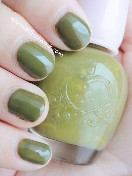 Etude House Nails Dgr704 review etude house nail dgr704 only olive at