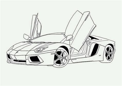 auto draw colour drawing free wallpaper car coloring drawing free wallpaper