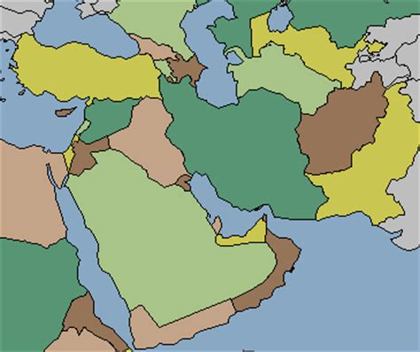 middle east map no names stopping the ignorance one post at a time a daily