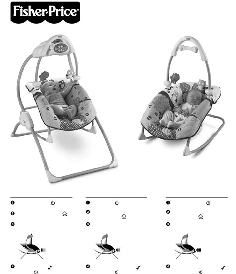 fisher price baby swing instructions fisher price baby swing w0386 user guide manualsonline com