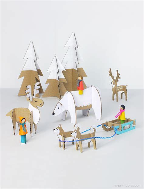 christmas card cutouts