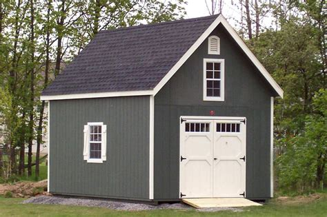 storage sheds  story traditional shed  york