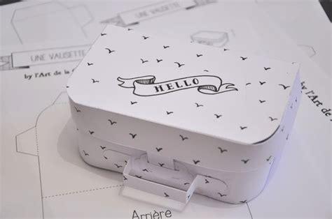 suitcase box template boxes bags pinterest