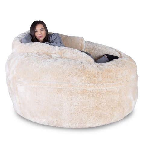 memory foam bean bag sofa fluffy cloudsac huge memory foam bean bag sofa beanbag uk