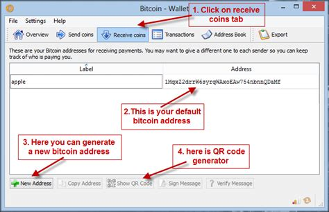 bitcoin wallet address what is my bitcoin wallet address and where can i see it