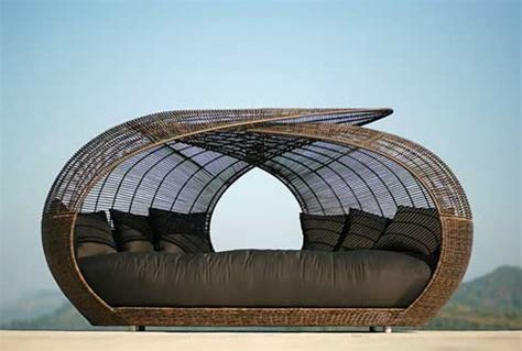 patio bed furniture outdoor furniture daybeds freshome
