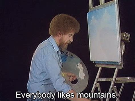 bob ross painting gif bob ross gif bob ross painting discover gifs