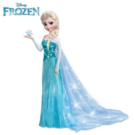 Home Wall Decor And Accents licensed disney frozen elsa portrait doll sings let it go