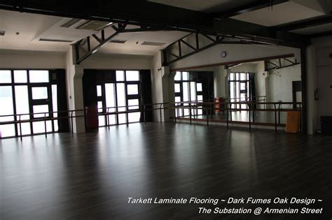 Dance Studio Flooring Project by Evorich (The SUBSTATION
