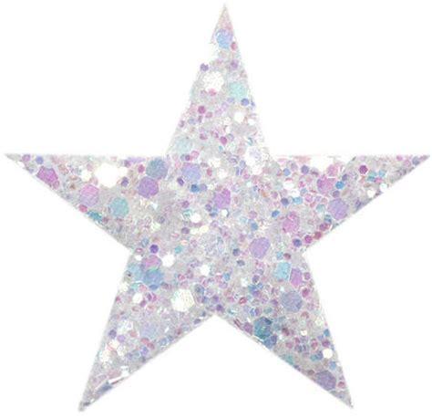 Syari Glitt 1 white glitter coarse grained hair clip