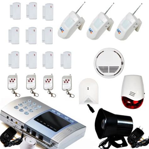 aas 500 wireless home security alarm system kit diy r