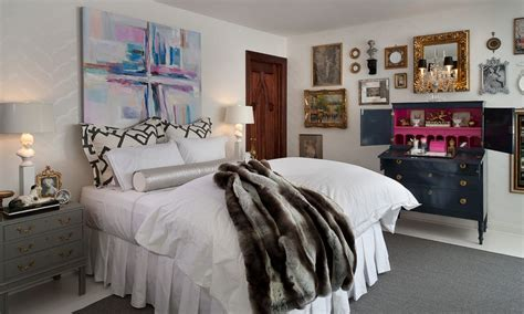 art over bed how to give character to a bedroom with a painting over