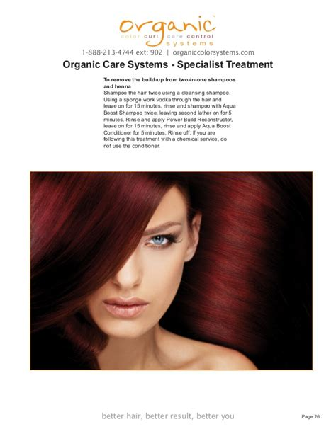 retail price of organic color systems aqua boost reconstructor organic color systems hair color technical manuall 2011