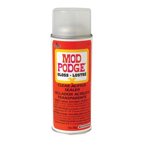 Mod Podge 174 Clear Acrylic Sealer Gloss